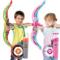 儿童弓箭玩具安全吸盘射箭射击室内户外运动男孩女孩闪光弓箭玩具