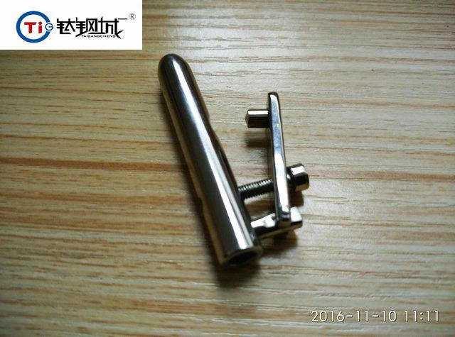 钛钢城R 原创设计第三代PA 阴环无痛压孔器 免针穿孔JJ环压孔器