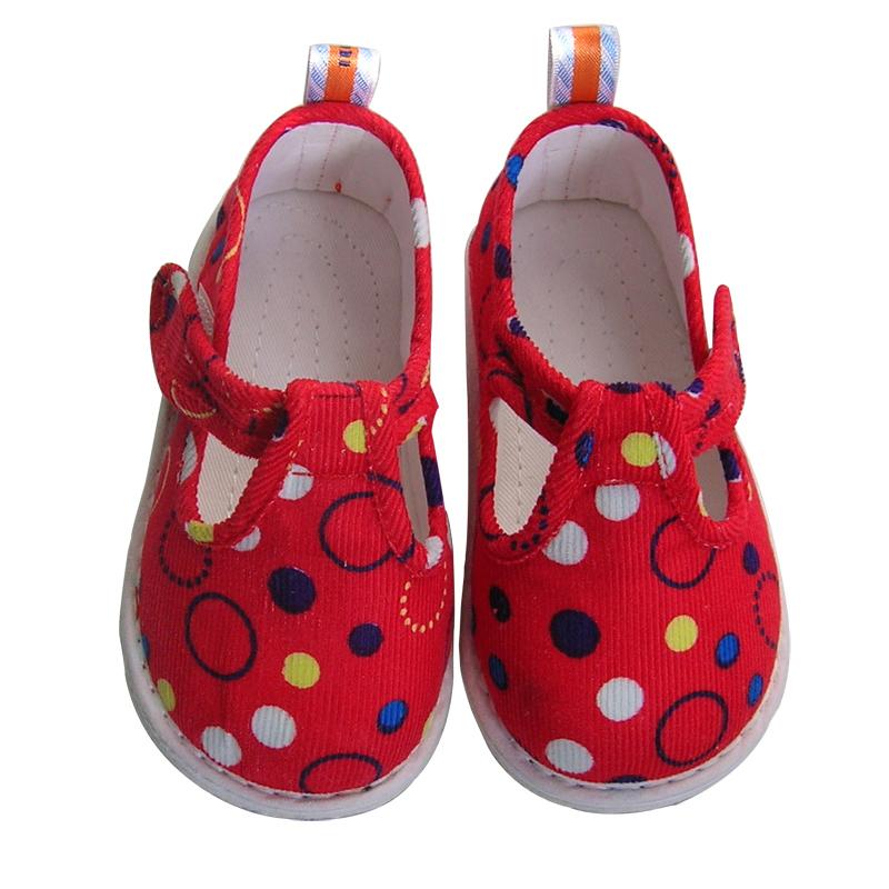 纯棉手工儿童布鞋老北京宝宝软底婴儿凉鞋男女小孩学步地板居家