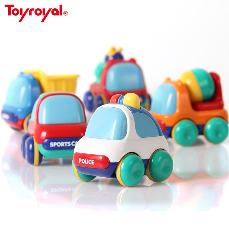 日本皇室惯性车 儿童玩具车 消防工程警车小汽车巴士婴幼宝宝