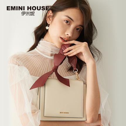 伊米妮高级感包包洋气质感女包新款2019单肩手提斜挎白色小ck方包
