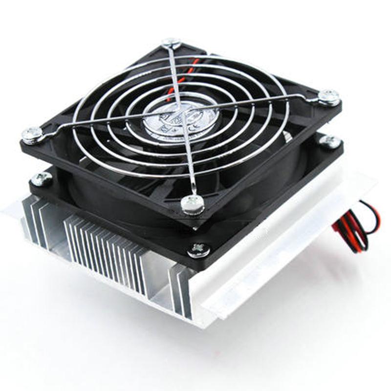 半导体制冷片 12v制冷设备降温配件套装 半导体制冷器小空调 冰箱