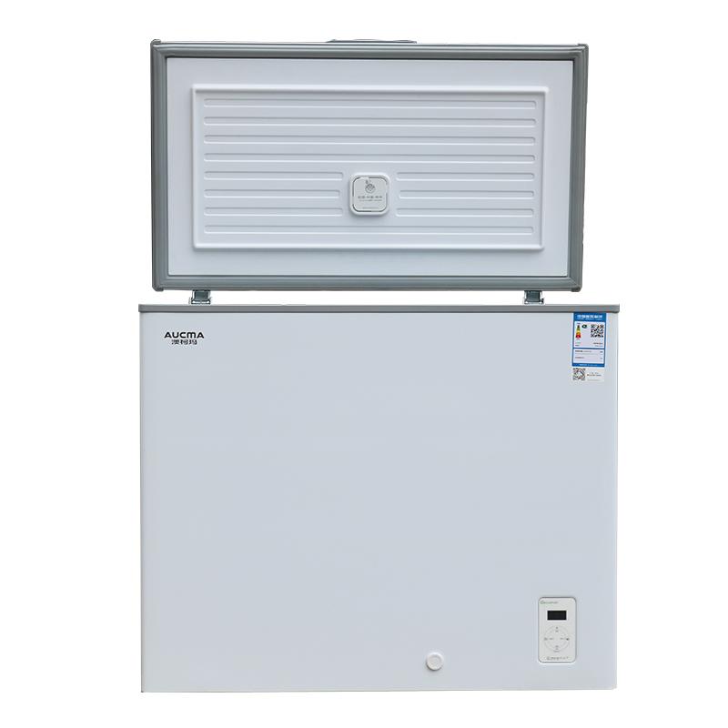 卧式商用小冷柜家用冷冻低温速冻冰柜 202SFA BD BC 澳柯玛 Aucma