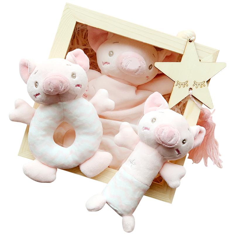 新生儿玩具礼盒母婴用品婴儿礼盒套装初生宝宝满月礼物百日大礼包