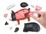 MegaHouse MH Black tuna and king crab Golden cow pig roast chicken three-dimensional jigsaw puzzles