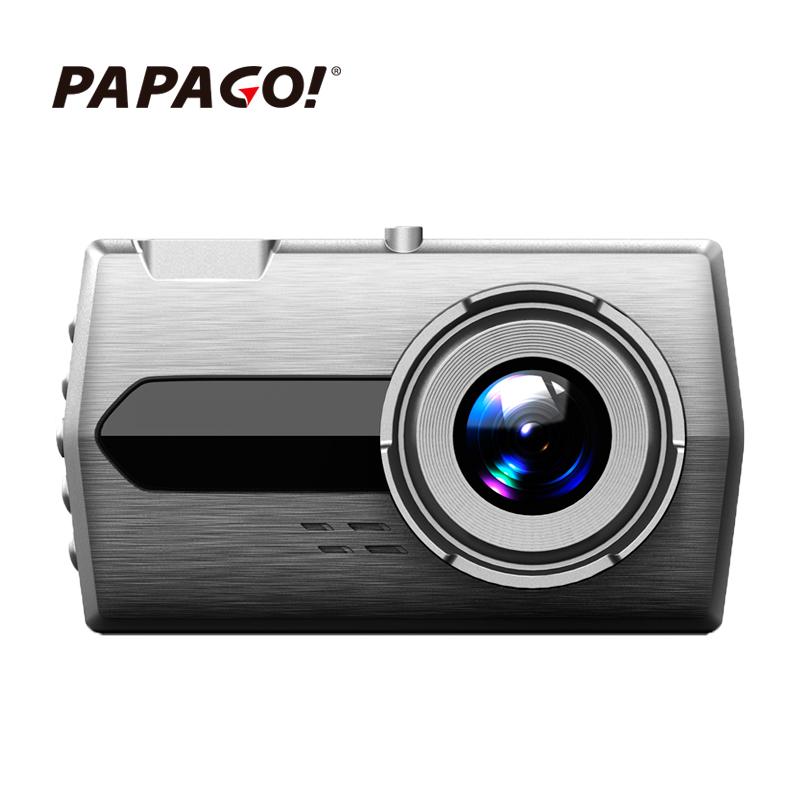 PAPAGO趴趴狗行车记录仪S99旗舰前后双镜头1296P高清广角停车监控