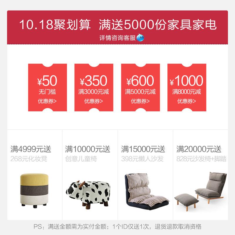 卡伊莲美式乡村布艺沙发小户型客厅可拆洗简约三人沙发组合1002#