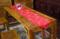 丝绸桌旗台布中国风茶桌旗中式禅意桌布红色结婚喜庆茶几旗布餐垫
