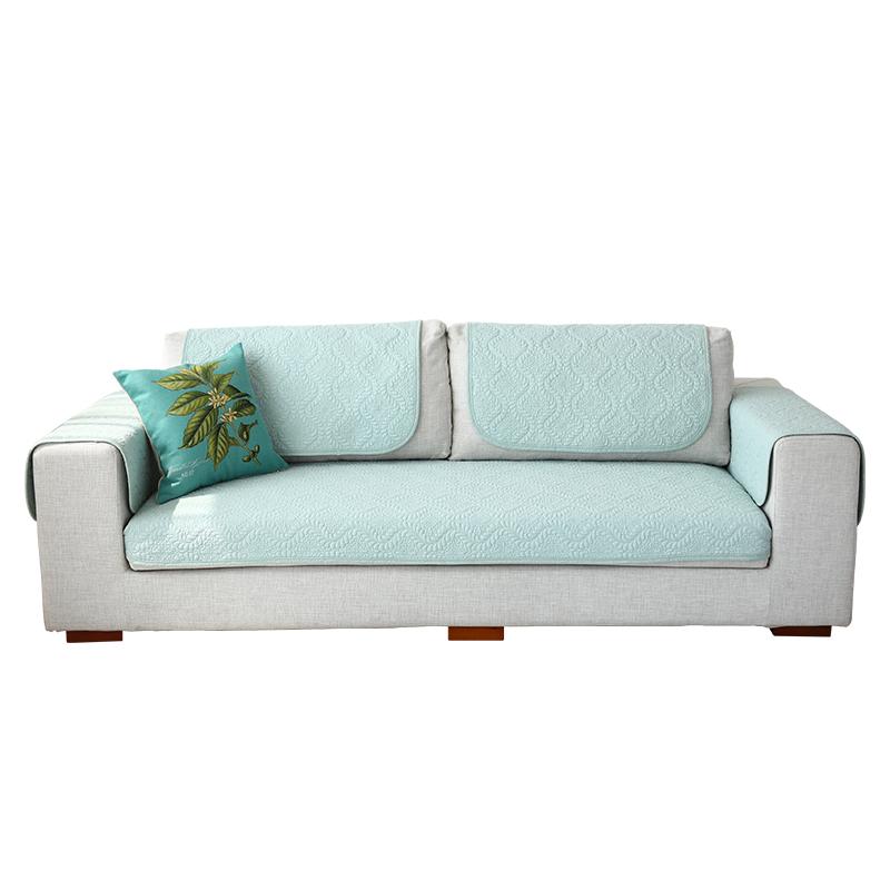 沙发垫北欧简约现代沙发套罩棉布全棉四季通用纯棉沙发盖巾靠背巾