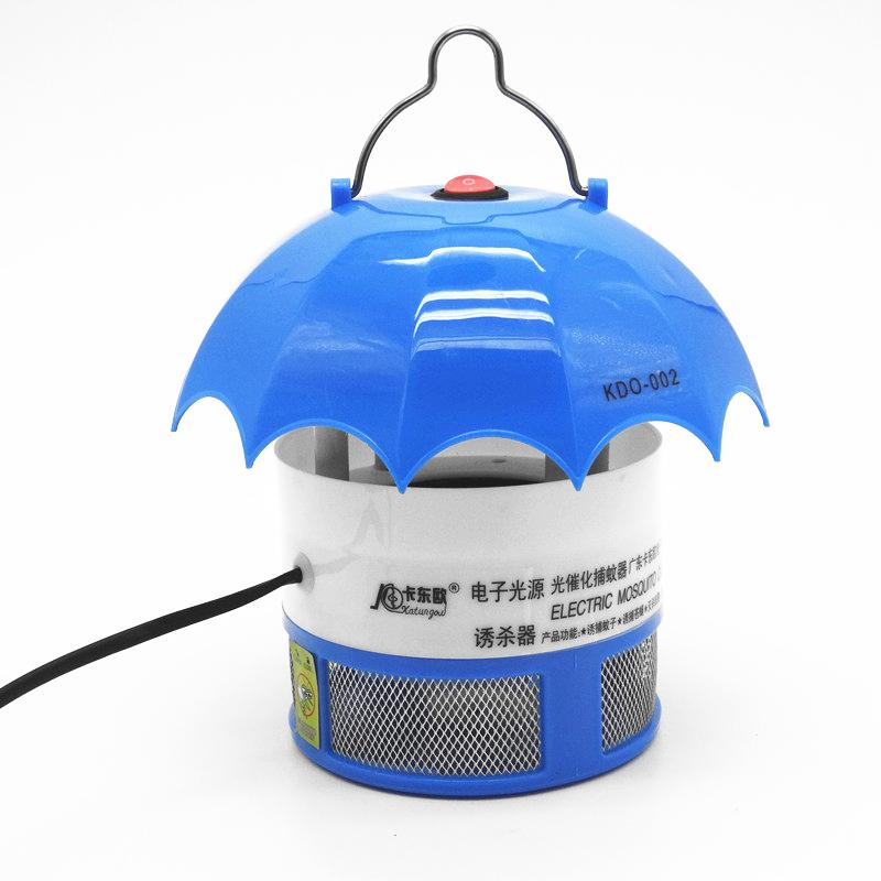 卡东欧光触媒静音家用吸灭蚊灯 光催化环保节能高效捕蚊器