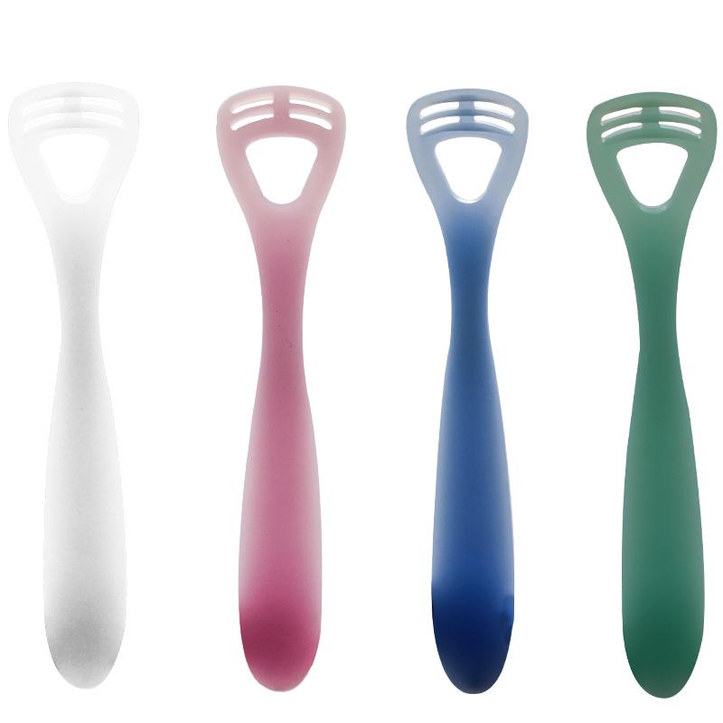 日本CI刮舌头清洁刷刮舌器软超软婴儿神器去口臭成人舌苔清洁器