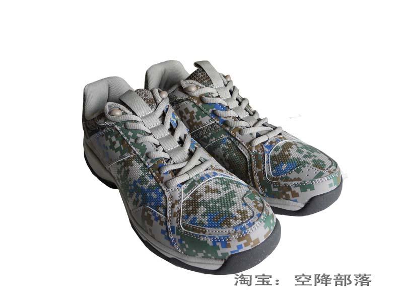 仓库出品户外A胶鞋 帆布鞋解放训练跑步锻炼男士配发跑步作训鞋