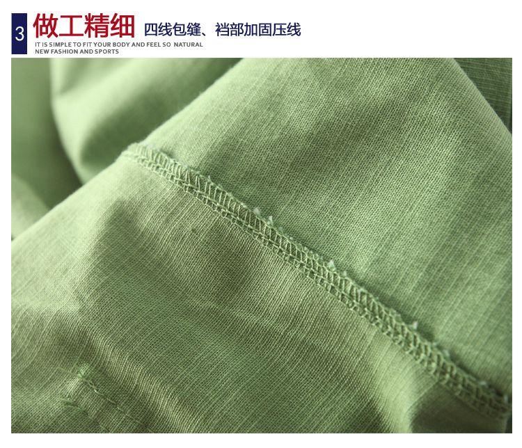 2019新款夏装洋气男童裤子中大童宝宝夏季薄款休闲裤棉麻防蚊裤