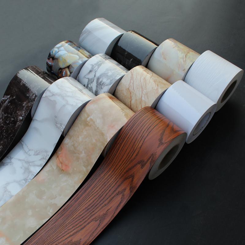 防水腰线自粘地脚线浴室墙门框贴纸厨房客厅卫生间瓷砖踢脚线墙贴