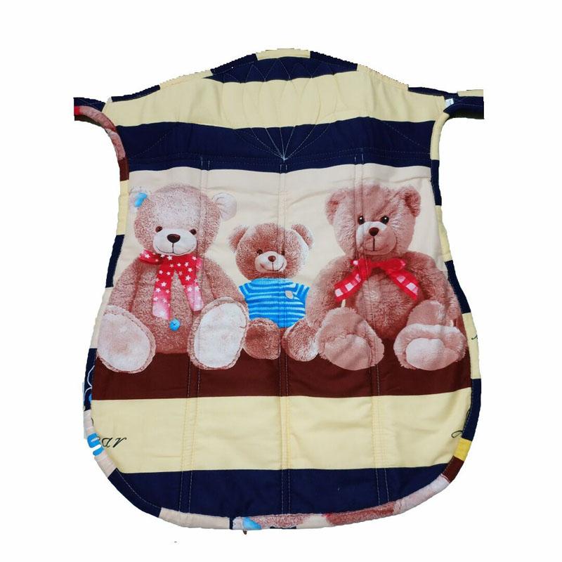 热销四季薄款宝宝背带老式小孩背扇卡通纯棉舒适简易传统婴儿背巾