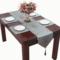 吉瑞莲桌旗中式禅意古典布艺餐桌柜子旗茶几床尾旗餐垫定做