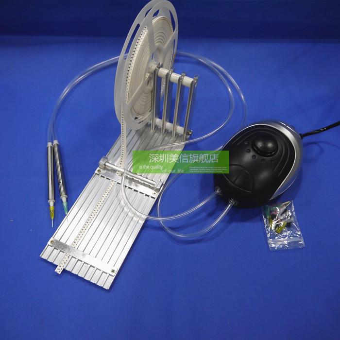 SMT手工贴片机 电动吸笔 真空吸笔+五槽喂料架 赠 12个针头 9吸盘