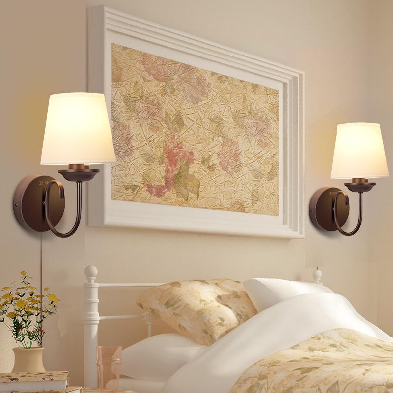 BD 欧普照明墙壁灯客厅灯家用卧室床头灯具楼梯美式简约户外壁挂灯