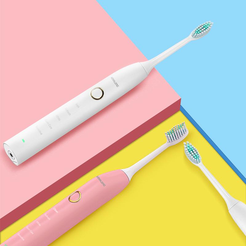 西马龙声波电动牙刷成人充电式震动情侣家用软毛防水美白牙刷