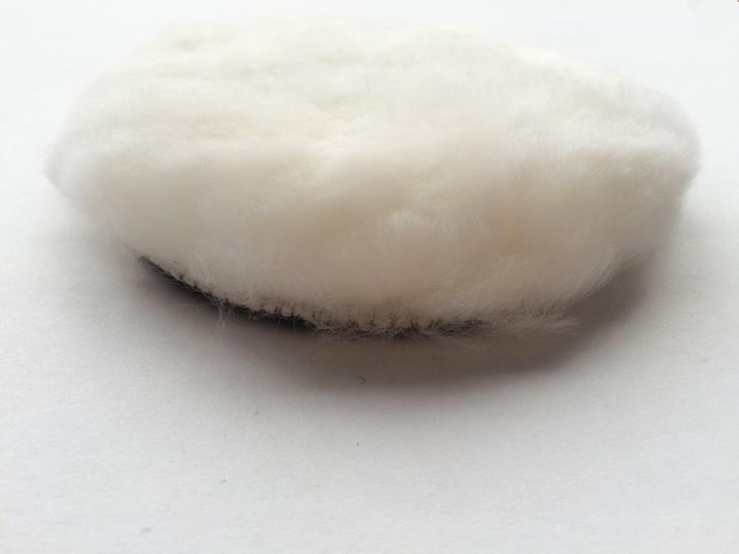 7寸抛光打蜡180mm羊毛盘羊毛抛光轮自粘盘抛光羊毛球抛光机用