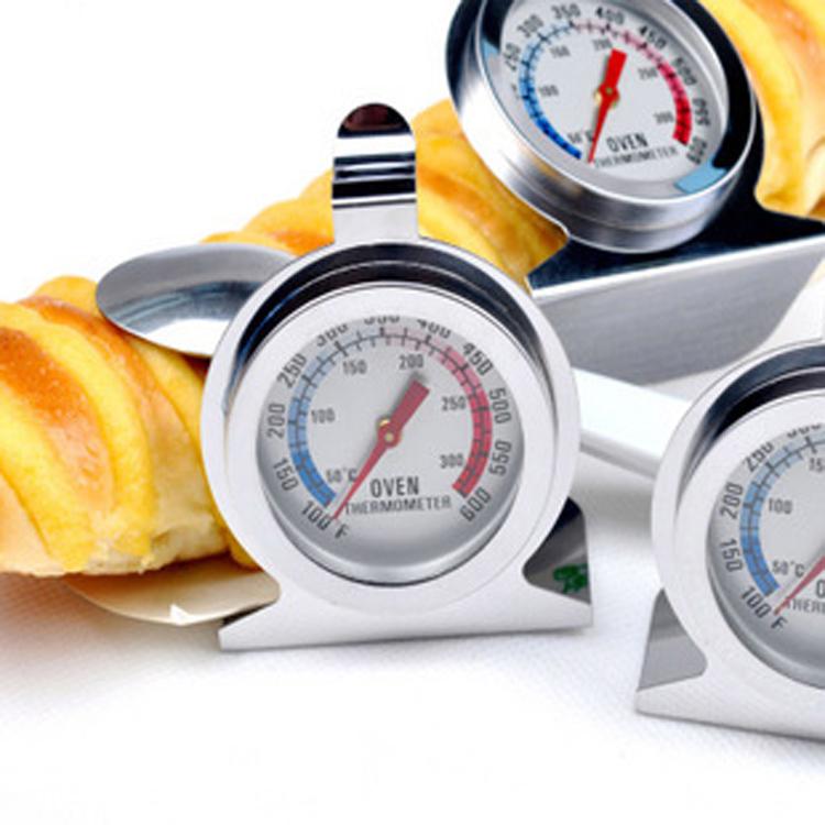 德立 烤箱溫度計 指標式溫度計 可直接放入烤箱使用 可平放