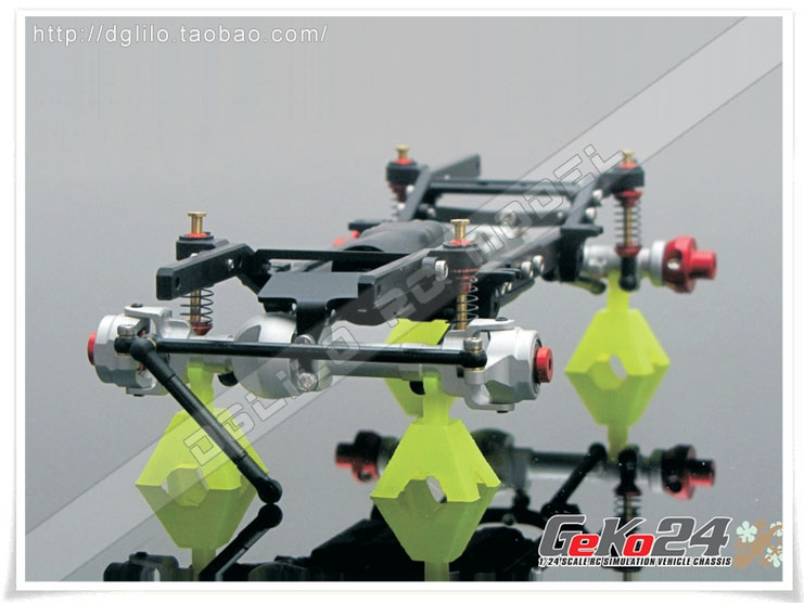 【DgLiLo】AutoRC 1/24 GK24仿真攀爬车架 蚊车爬 GeKo24 三代