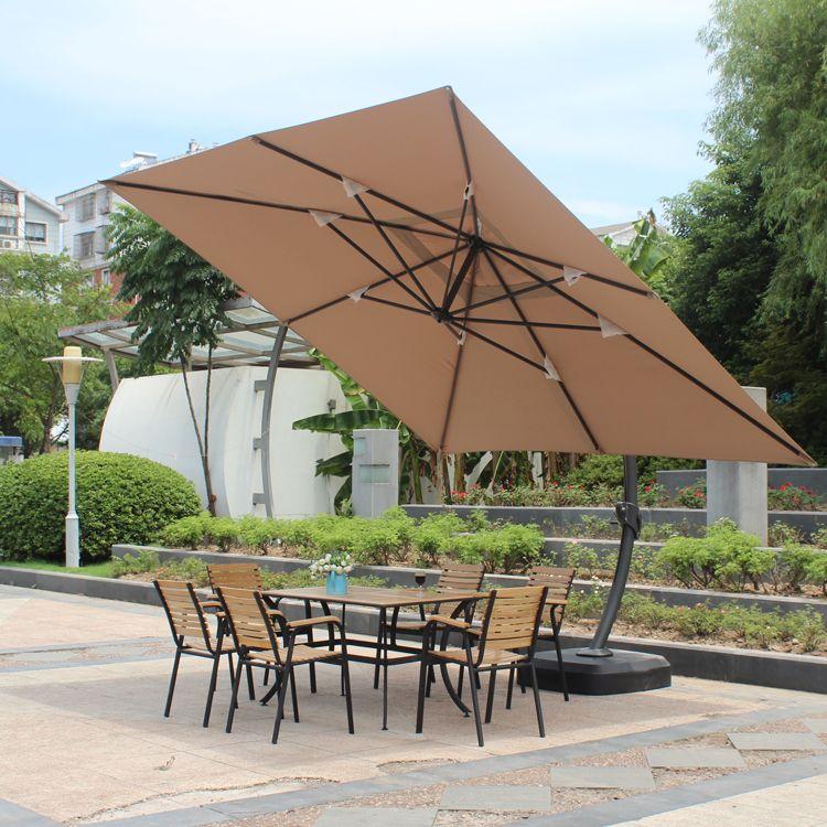Outdoor Garden Cafe Umbrellas Large Umbrella Parasol Advertising Beach Leisure Terrace Patio