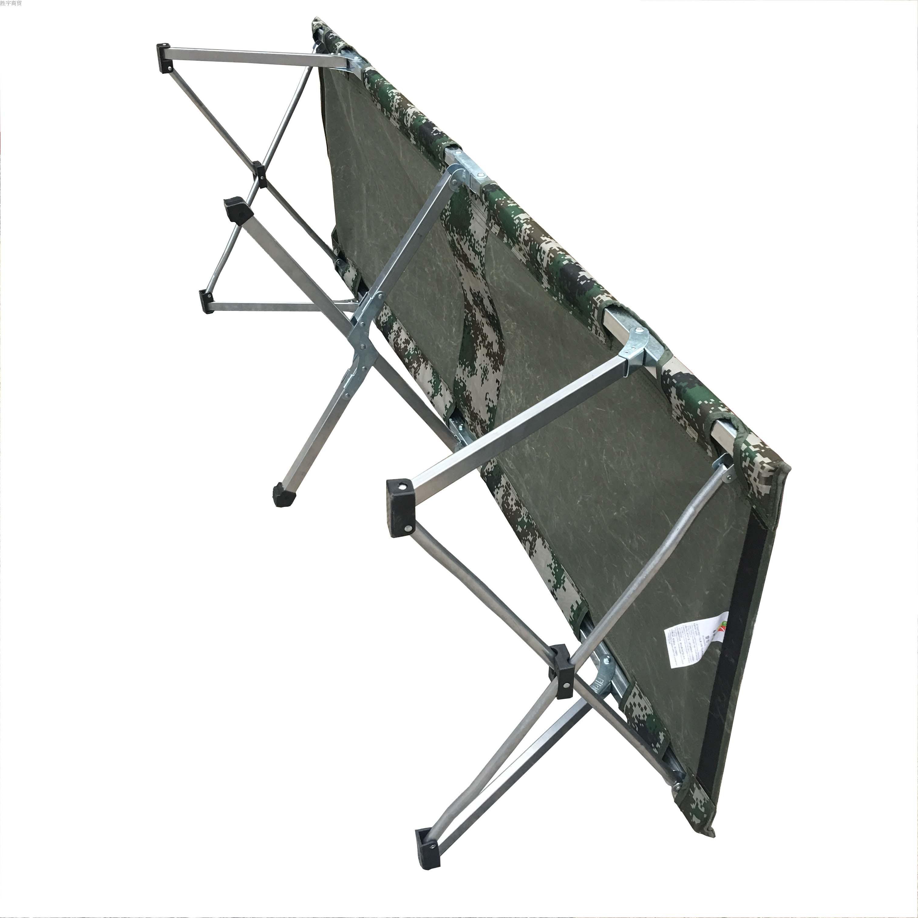 新款简易便携户外单人折叠床行军床午睡床医院陪护床护理床多功能