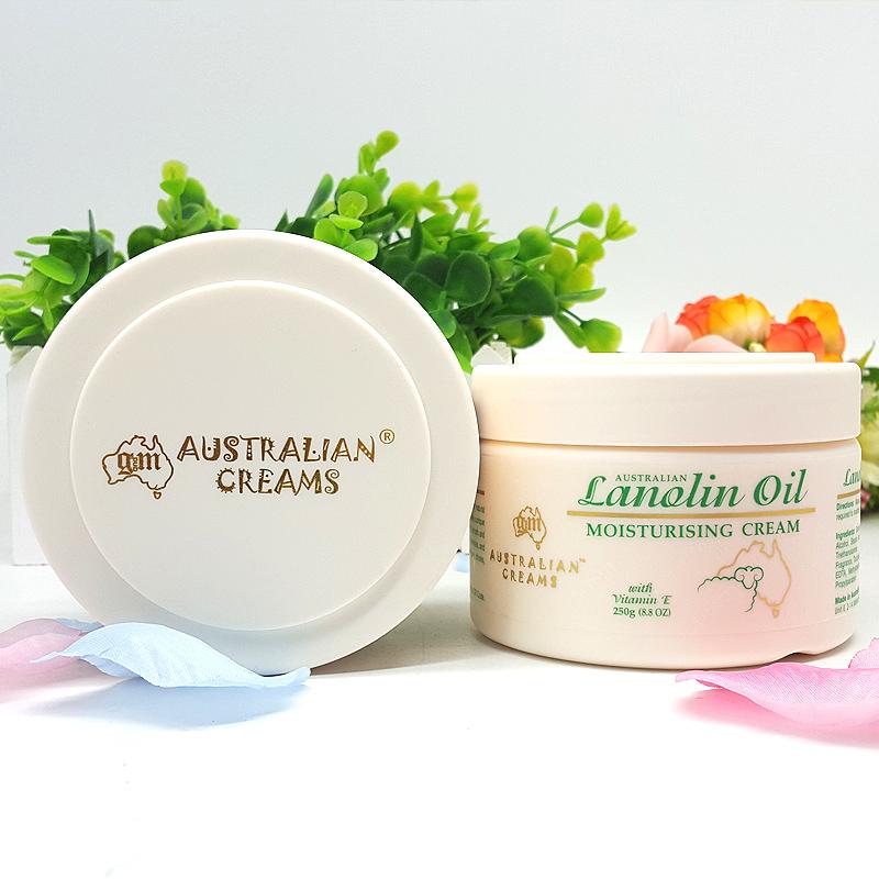 gm绵羊油澳洲原装正品进口ve面霜女护手霜身体乳补水保湿250g