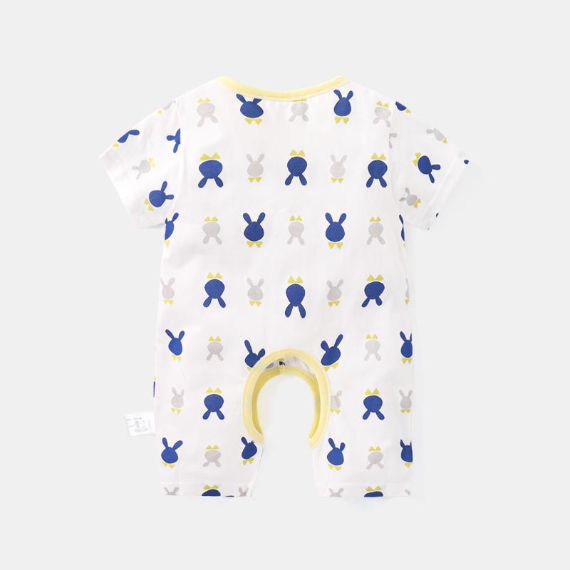 个月 6 岁哈衣 0 男 3 女宝宝 12 婴儿衣服短袖长袖秋装连体衣夏装新生儿
