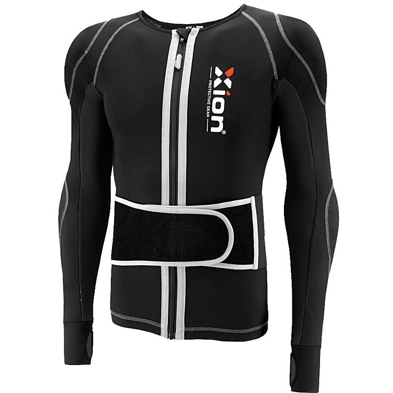 [雪视界]荷兰XION高端男士护甲滑雪护具内衣特技保护防摔衣6片D3O