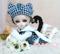 现货 BJD娃娃绅士套装3 46分巨婴bjd娃娃衣服男装 少年绅士兔耳猫