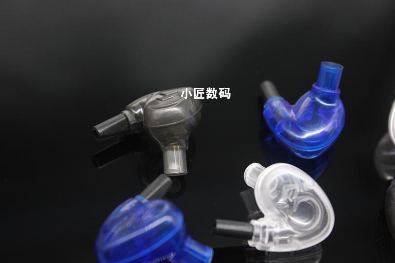 耳机配件 diy 耳机壳 透明入耳式耳机外壳 7mm 8mm 双单元 双动圈