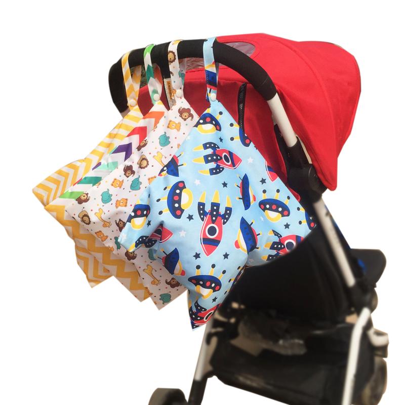 婴儿床头收纳袋婴儿挂袋尿布袋尿不湿外出收纳包尿片便携袋子防水