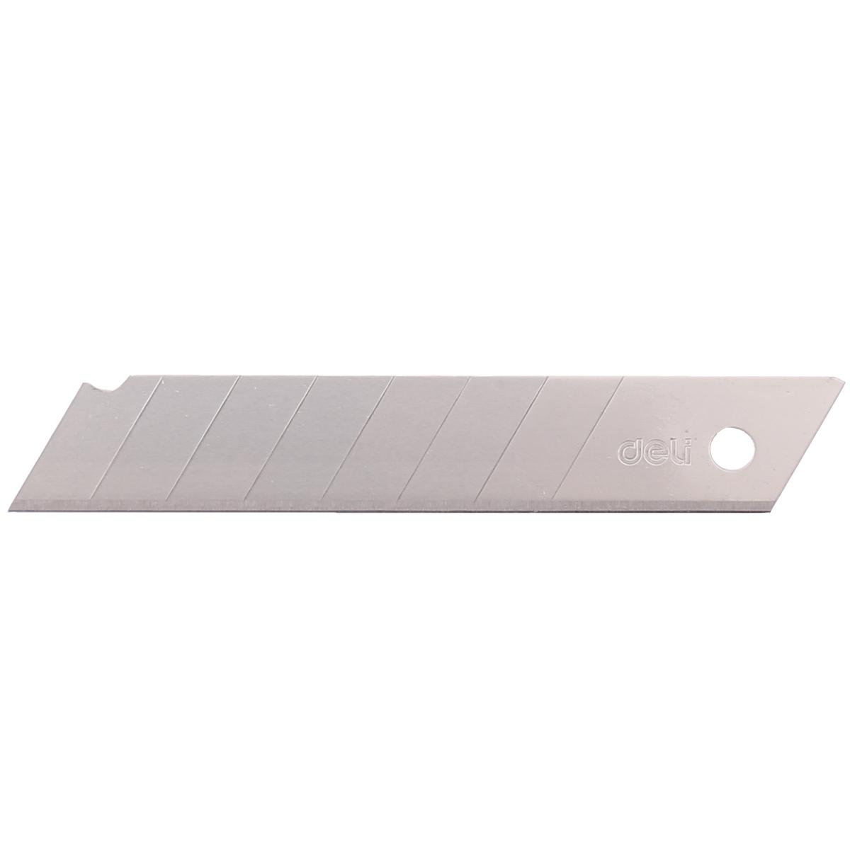 5盒装得力美工刀片18mm大号壁纸刀加厚墙纸刀片裁纸刀片切割刀片