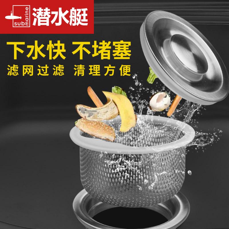 廚房水槽蓋子通用洗菜盆漏水塞籃過濾網下水管道濾網洗碗池蓋水漏
