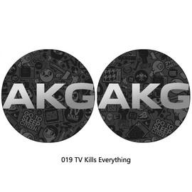 AKG爱科技y50bt y50蓝牙头戴式耳机y45bt贴纸个性保护贴膜定制