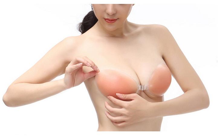 女式隱形文胸 矽膠胸墊 聚攏無痕內衣泳衣比基尼聚攏用品調整胸型