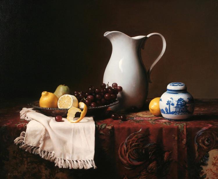 世界名画高清古典花卉静物油画装饰画,拍下链接下载共148张3.26G