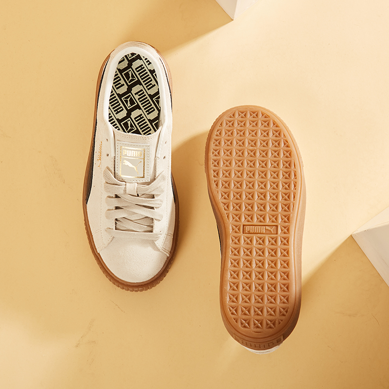 PUMA彪马女鞋2021夏季新款松糕鞋厚底蕾哈娜运动休闲鞋板鞋363559