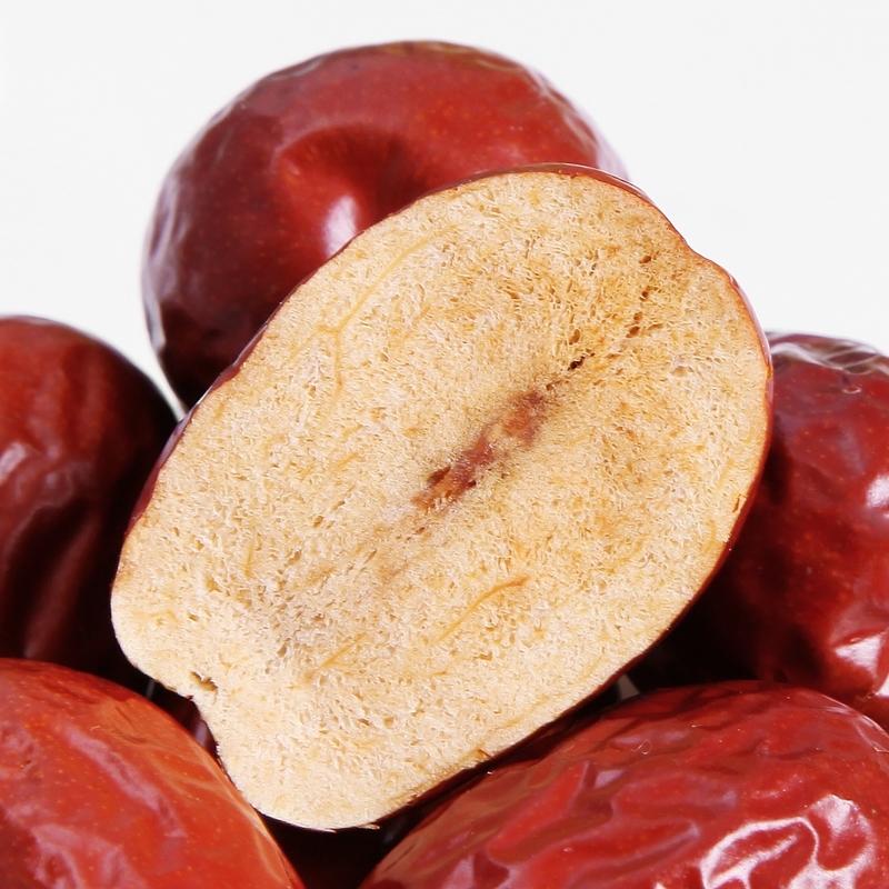 【天天特价】新疆和田大枣皮薄肉厚零食红枣2000g( 1000X2袋)