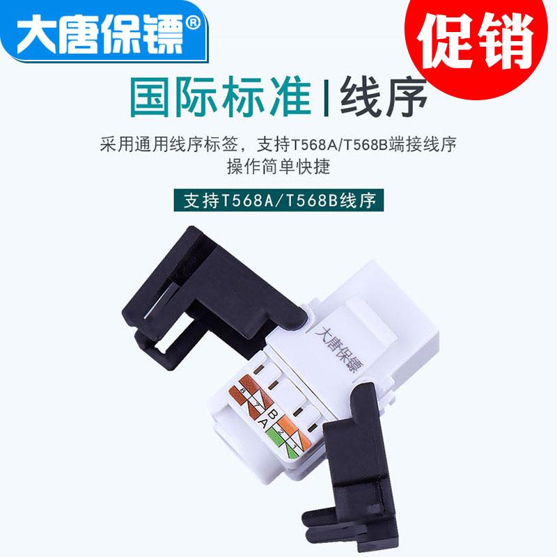大唐保镖DT2803-5M大唐超5类模块 免打线模块超五类 网络模块rj45