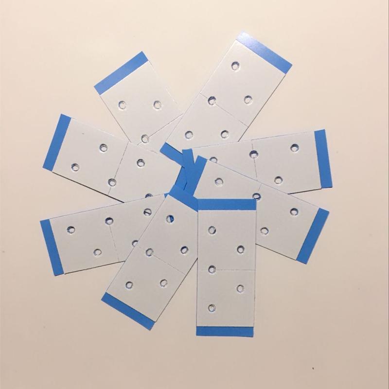 织补发假发无痕双面蓝胶片唐风采强力生物进口防水防汗工具包邮