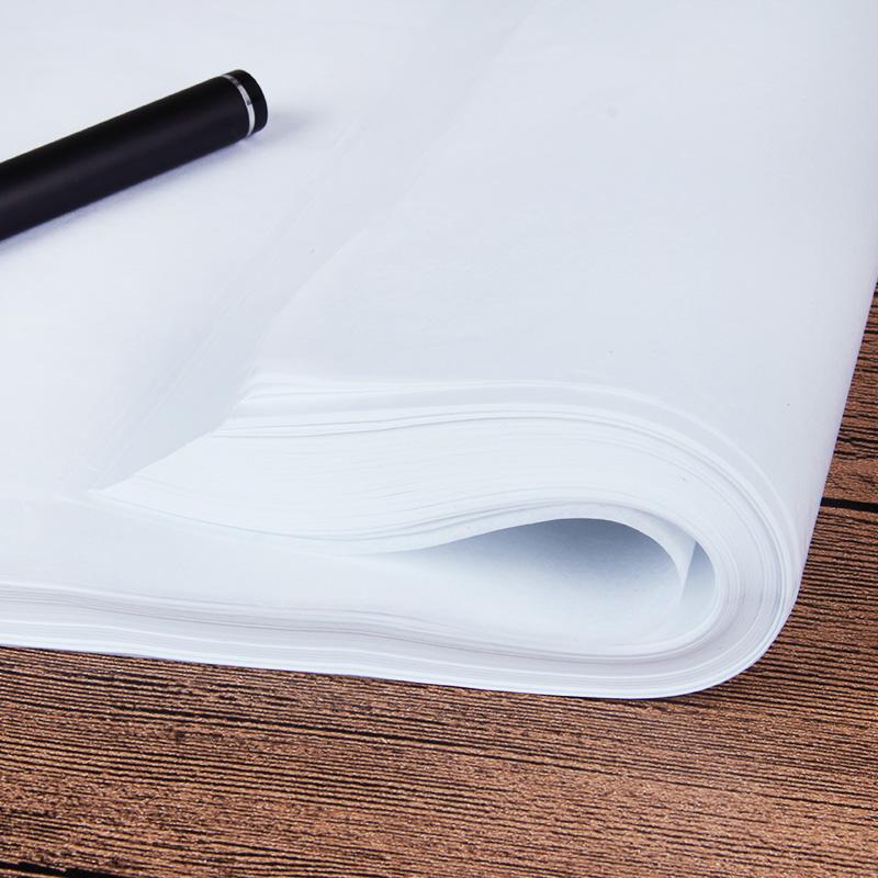 临摹纸拷贝纸透明纸描图练字专用硫酸纸a4钢笔字帖描红薄纸练字纸描摹纸拓印纸书法画画描字纸描图纸蒙半透明