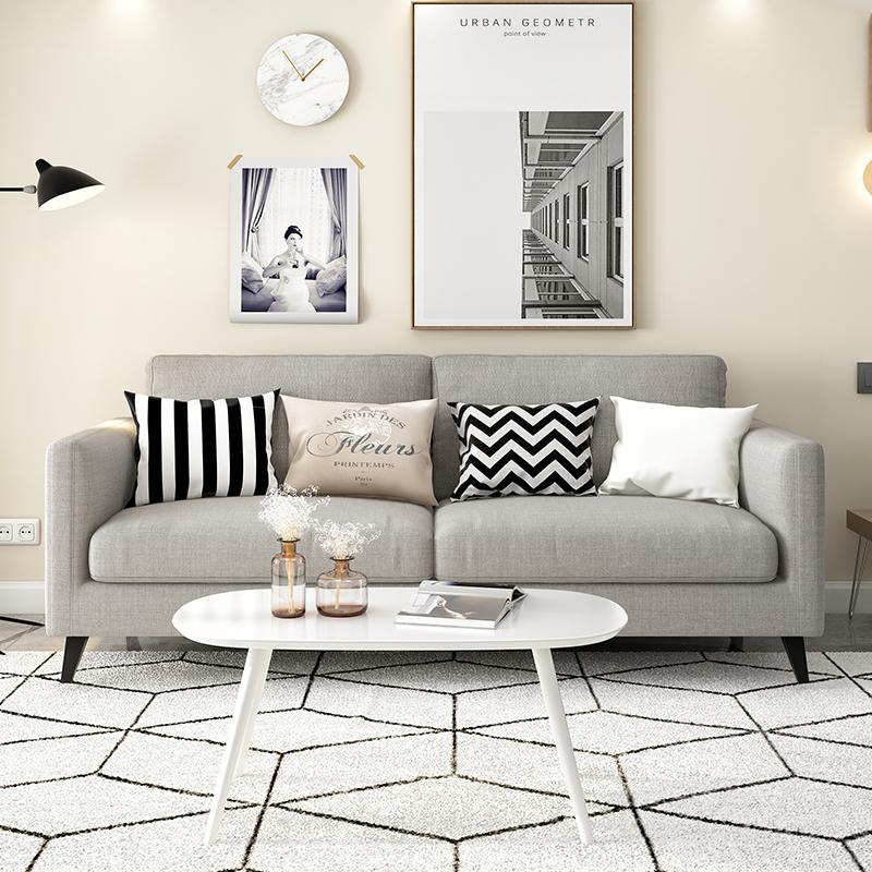 现代乳胶公寓整张沙发