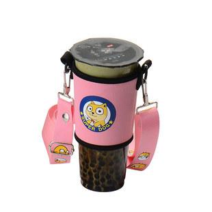 环保手摇杯套含背带便携创意水杯套