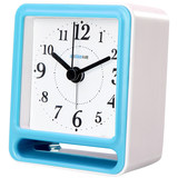 Branch ship rechargeable multi-function alarm clock bedroom bedside students mute creative USB smart electronic small clock