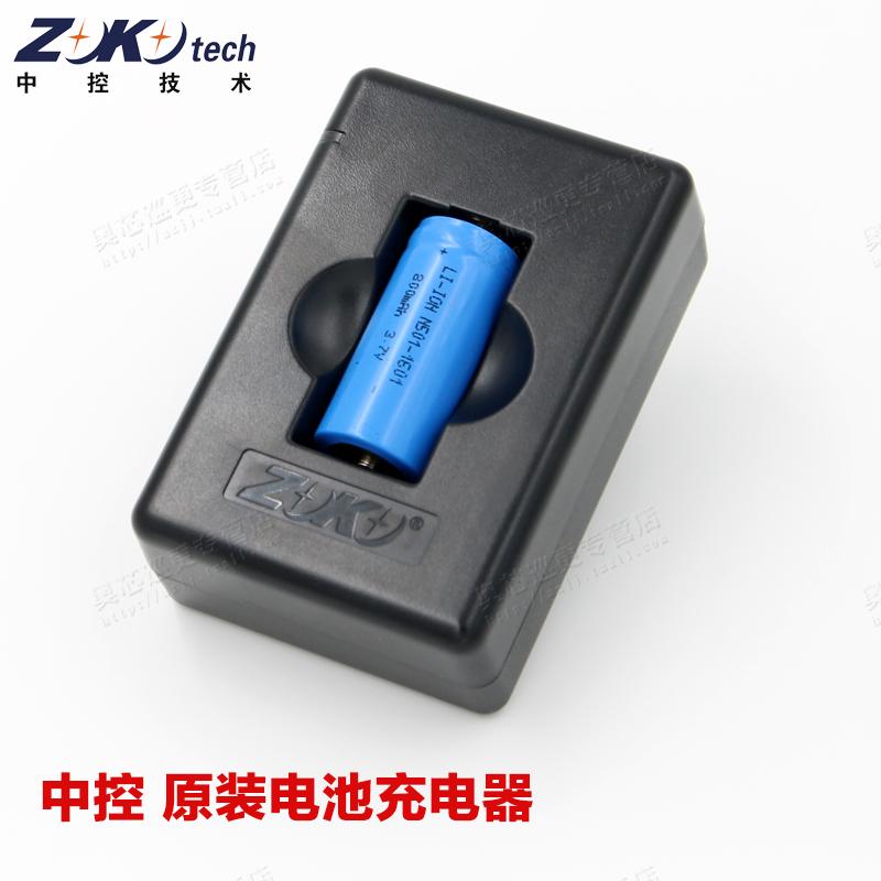 中控充电电池 巡更棒k510 K-500+巡更机配用电池N501配套适用锂电