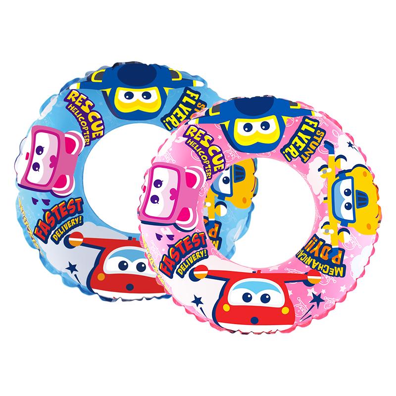 超级飞侠儿童游泳圈腋下救生圈3-8岁小男女孩座圈宝宝趴圈浮圈