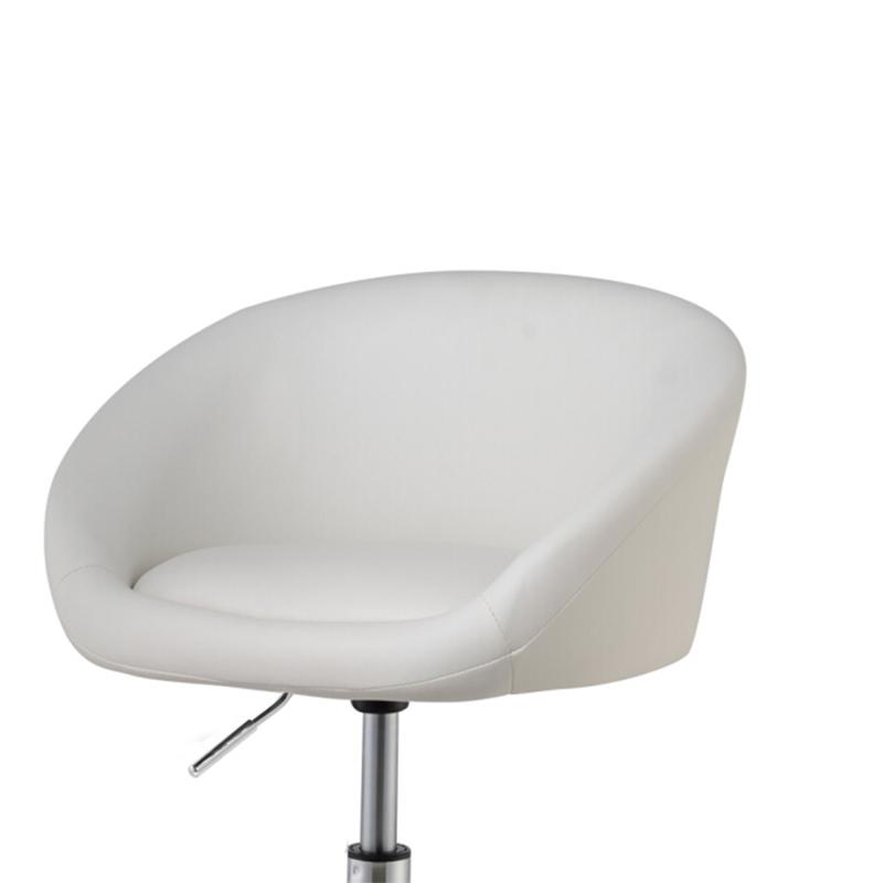 竹璟矮款吧台旋转椅子欧式时尚简约吧台凳酒吧椅子升降会客小椅子